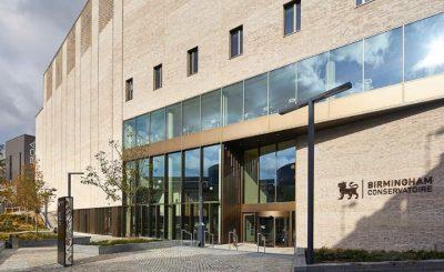 Birmingham Conservatoire AJ Architecture Awards