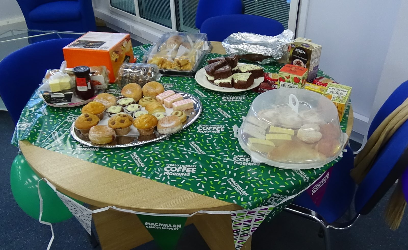 Macmillan Coffee Morning total